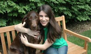 Jen and Belle: Loyal companions get cozy and comfortable together.