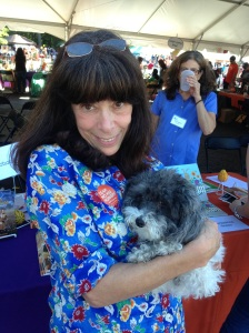Cuddling up with award-winning children's book author Roni Schotter