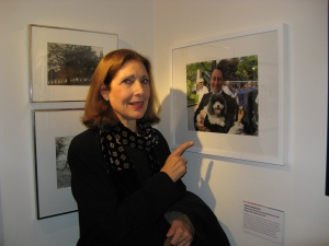 Ronni Diamondstein is excited to see Maggie Mae's photo that she took in the exhibition.